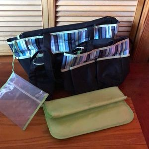 Carter's 2 diaper bags bundle with extras